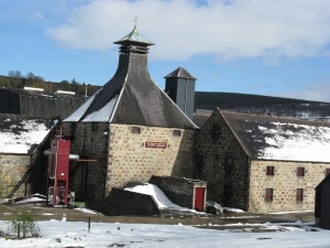 The Balvenie distillery in the heart of Speyside.