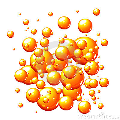 orange-bubbles