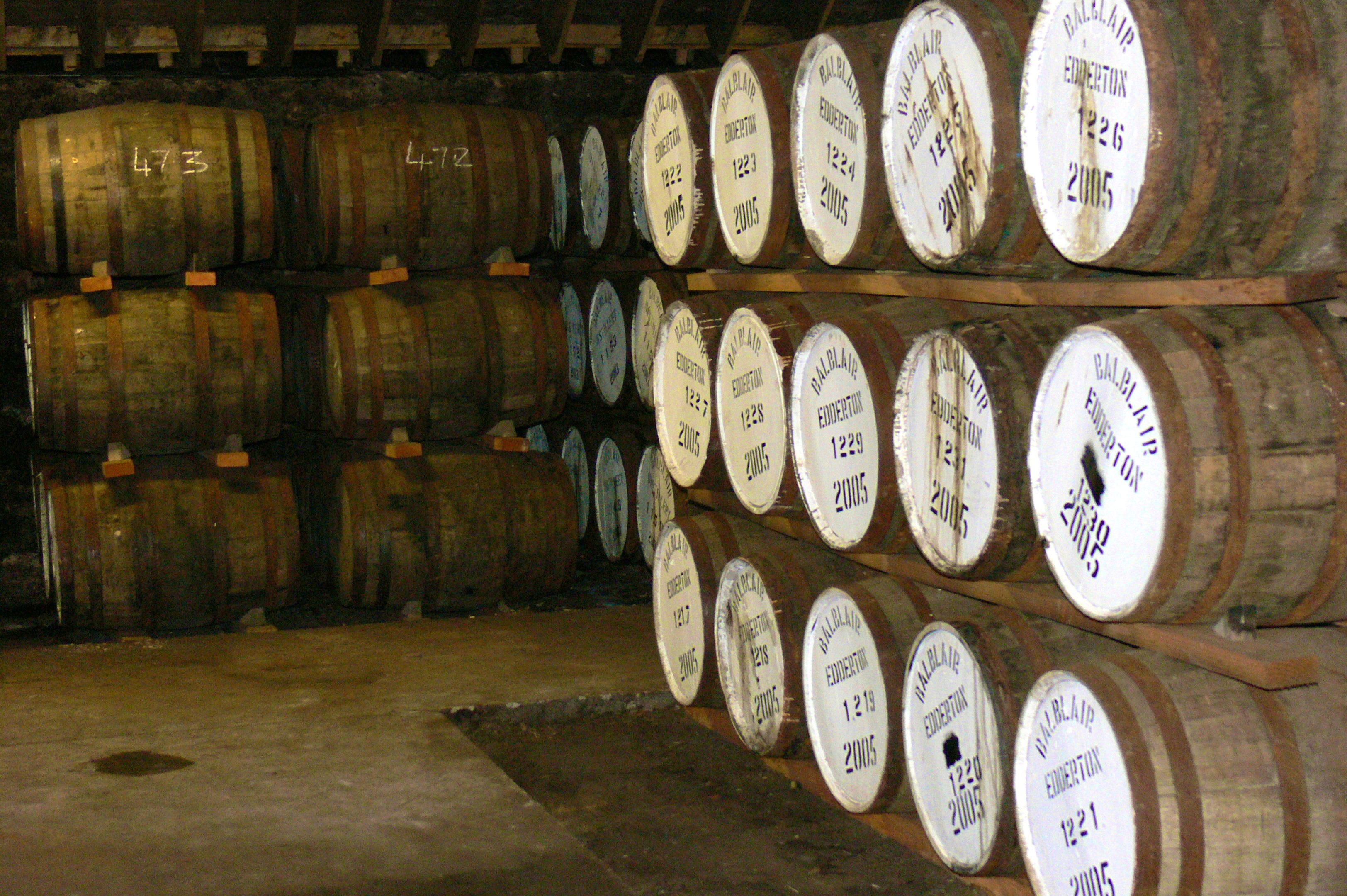 Casks at Balblair