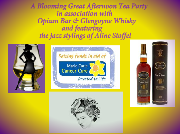 Afternoon whisky tea party image