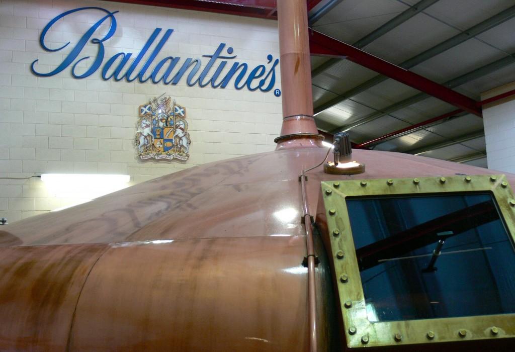 Ballantine's Glenburgie distillery
