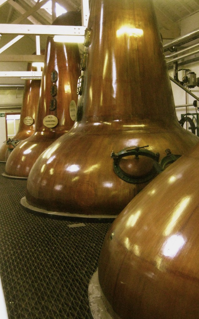 Tamdhu single malt stills