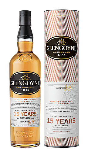 Glengoyne whisky 15 year old