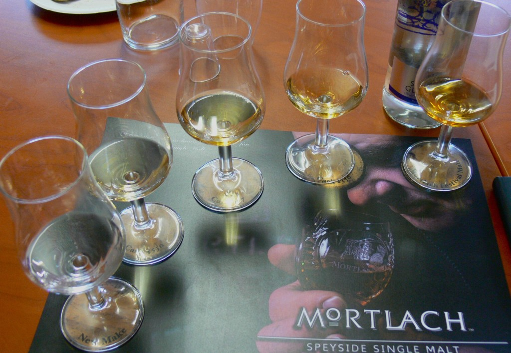 Mortlach distillery tour tasting