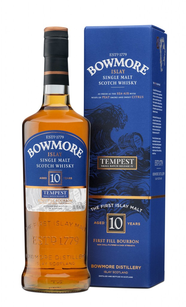 Bowmore Tempest 4 Bottle and Box