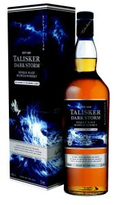 Talisker Darm Storm bottle and box