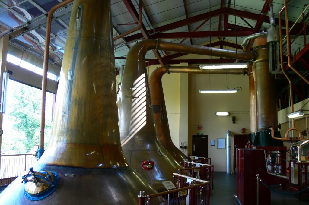 Inside Aberfeldy Distillery