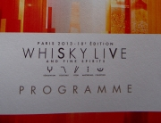Whisky Live Paris Programme