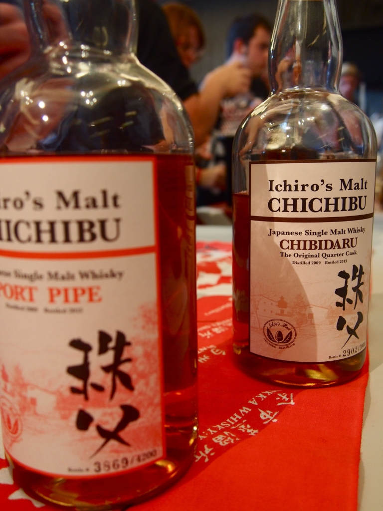 Chichibu at Whisky Live Paris 2013.