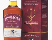 Bowmore Devil's Casks bottle and box