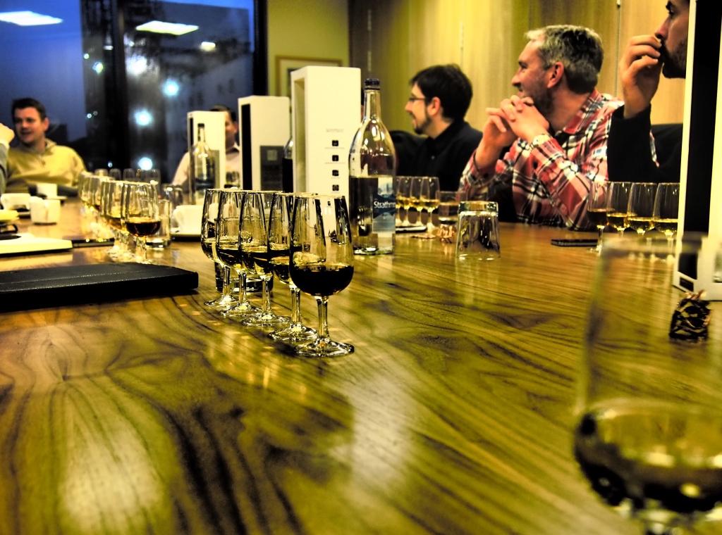 Girvan Patent Still tasting room
