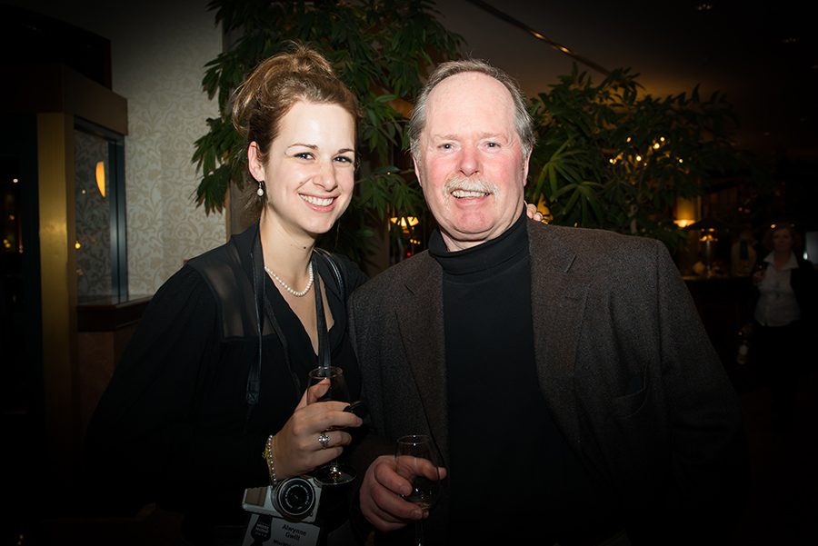 My dad & I at Victoria Whisky Festival 2014. Courtesy of Jen Steele Photgraphy