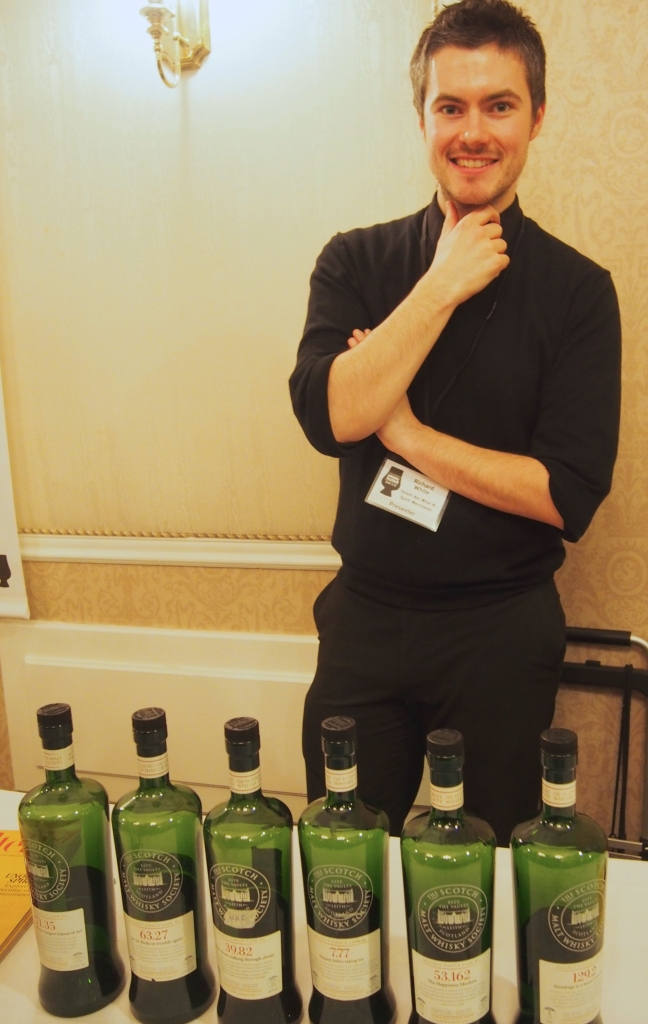Rick, from The Strath Ale, Wine & Spirits Merchants, which has been a longtime supporter of the festival and SMWS in Canada.