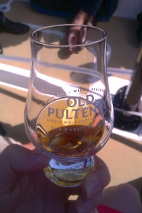 Old Pulteney glass