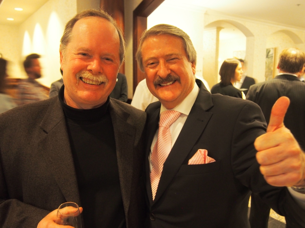 My father and Richard Paterson at Victoria Whisky Festival. The Mustachioed Brigade.