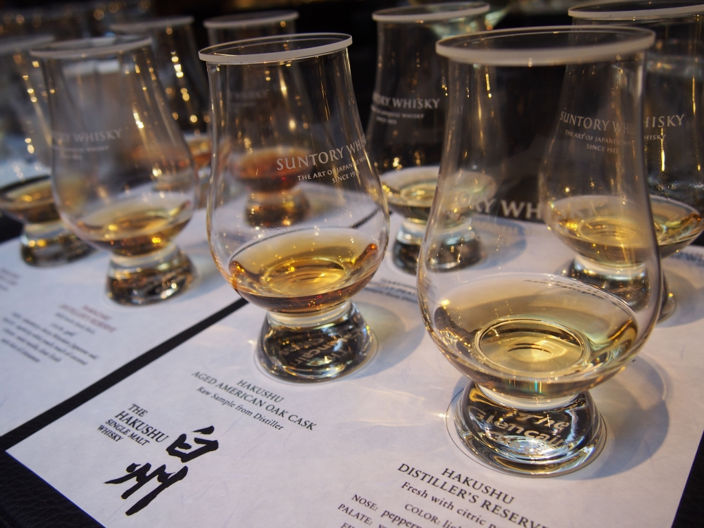 Suntory Whiskies