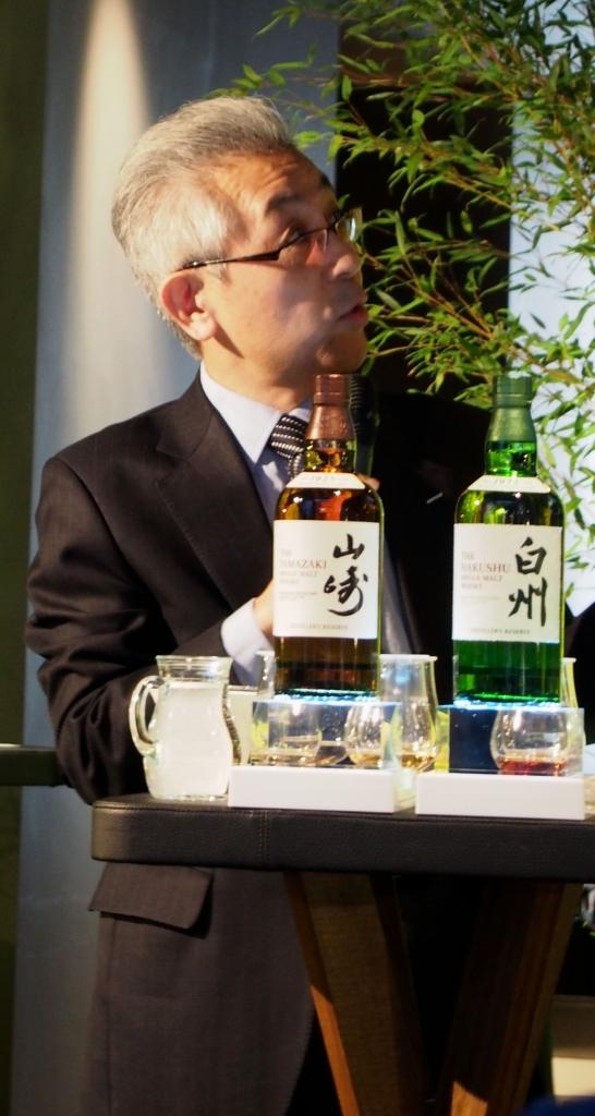 Shinji Fukuyo, Suntory Chief Blender