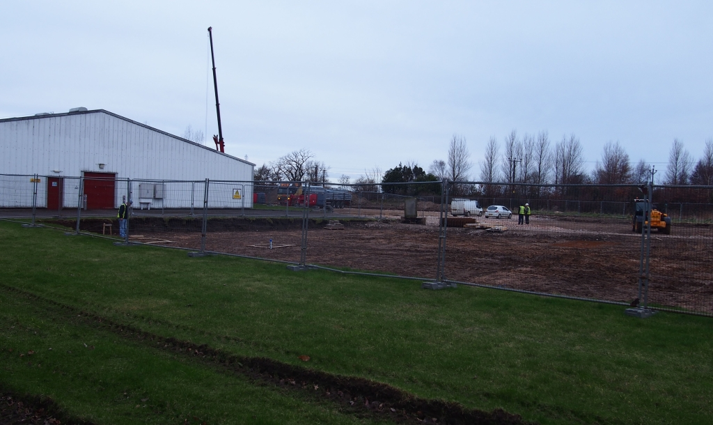 The new warehousing site at Benromach.