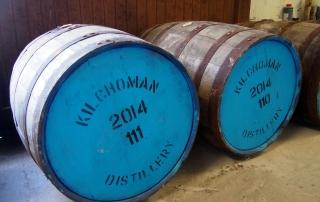 Kilchoman casks