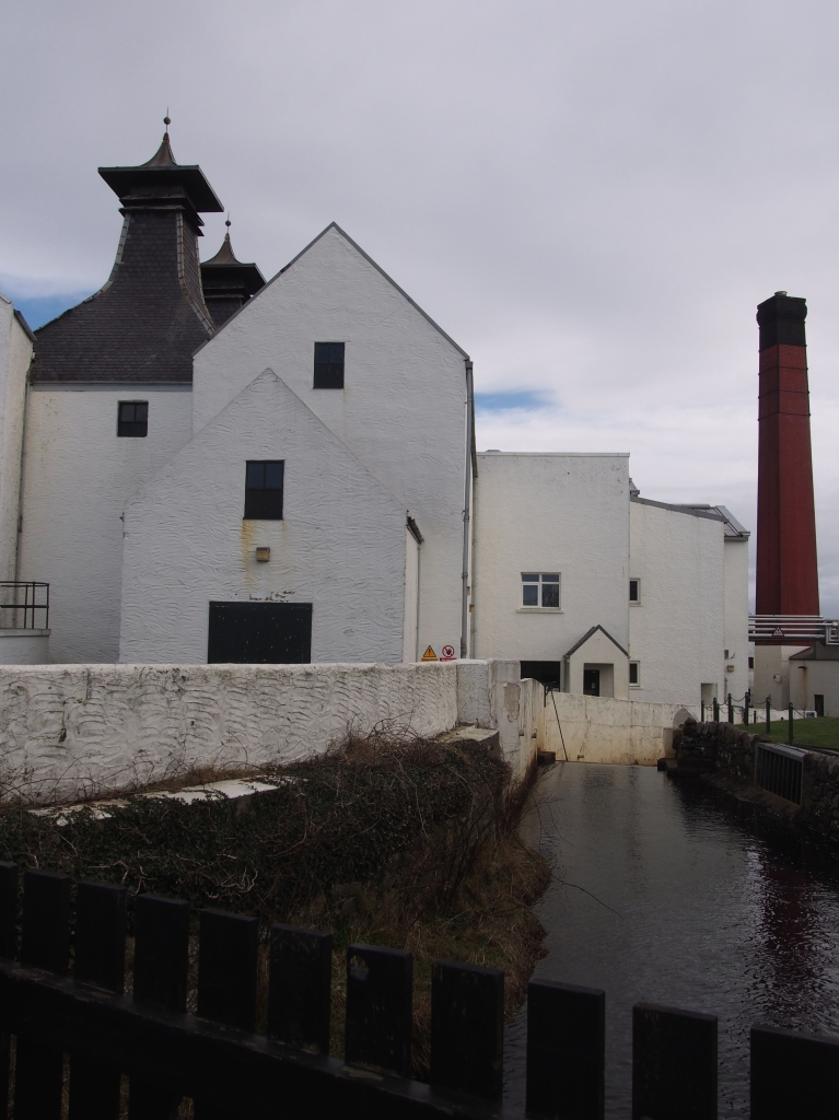 Lagvulin Distillery. February 2014.