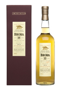 Brora bottle&box