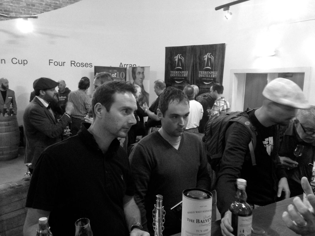 Attendees at the Whisky Exchange Show 2014.
