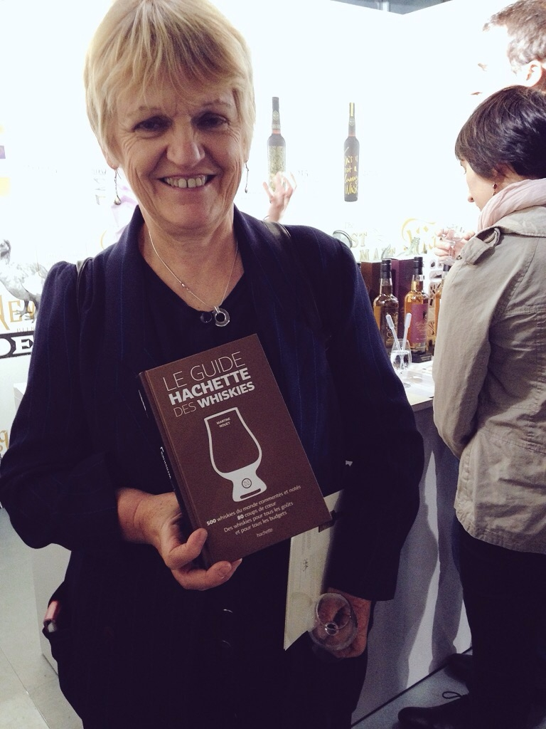 Martine Nouet with her newly published book!