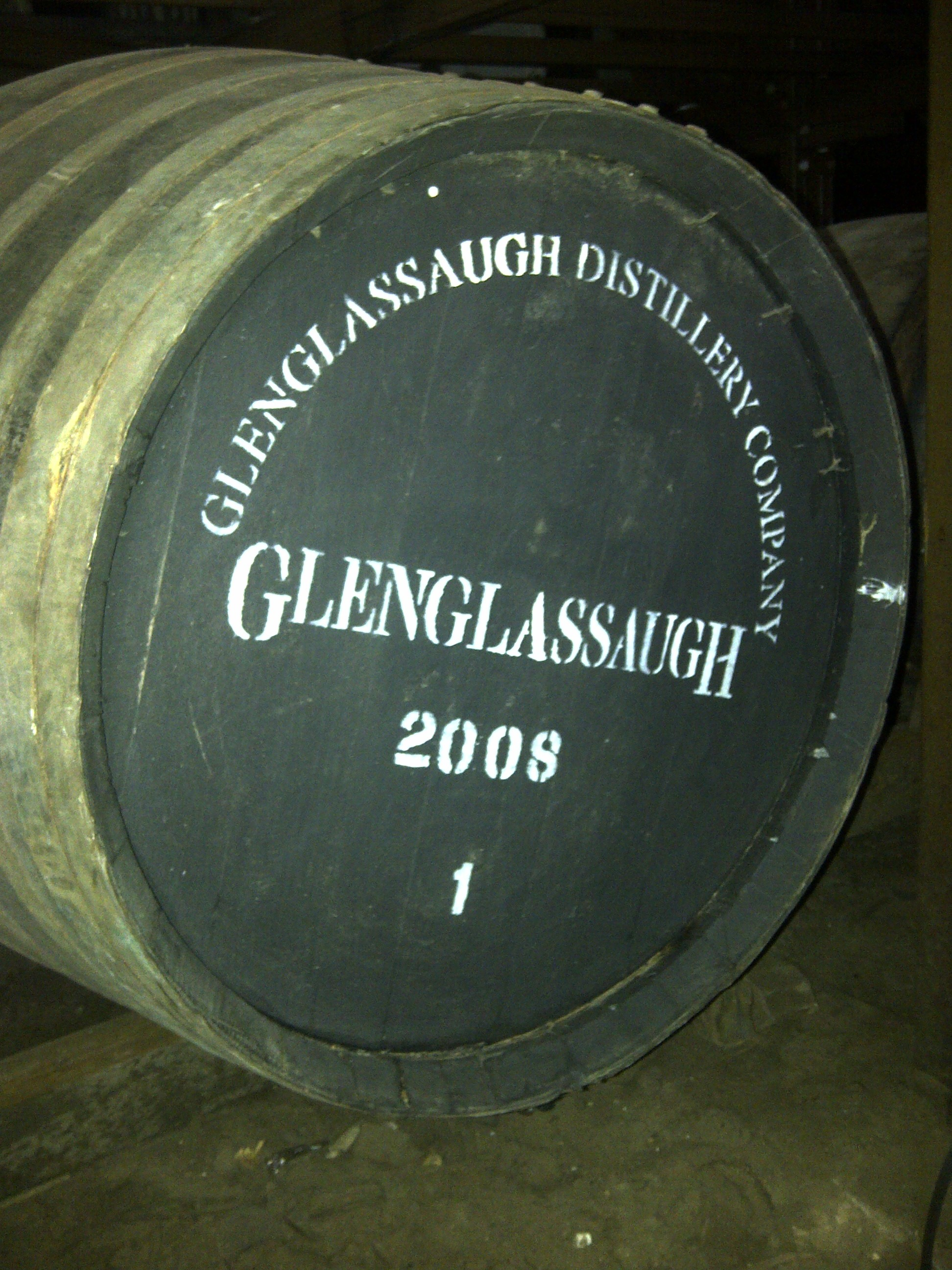 The first cask from the revived Glenglassaugh Distillery.