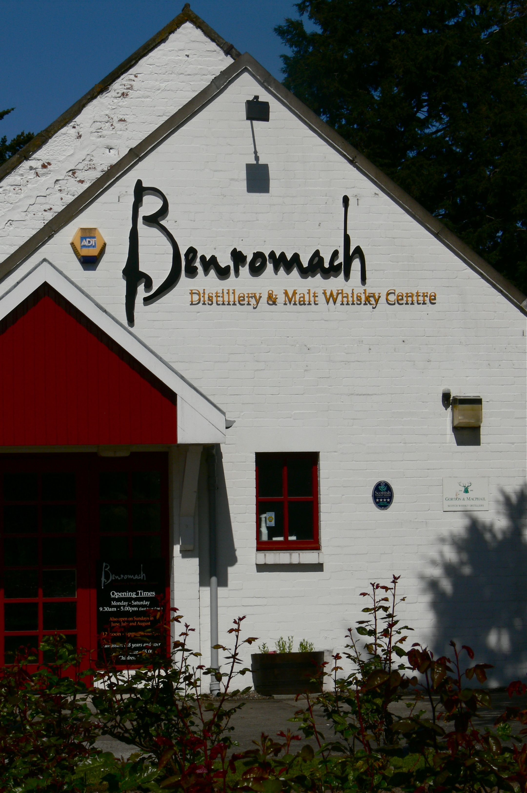 Benromach Front