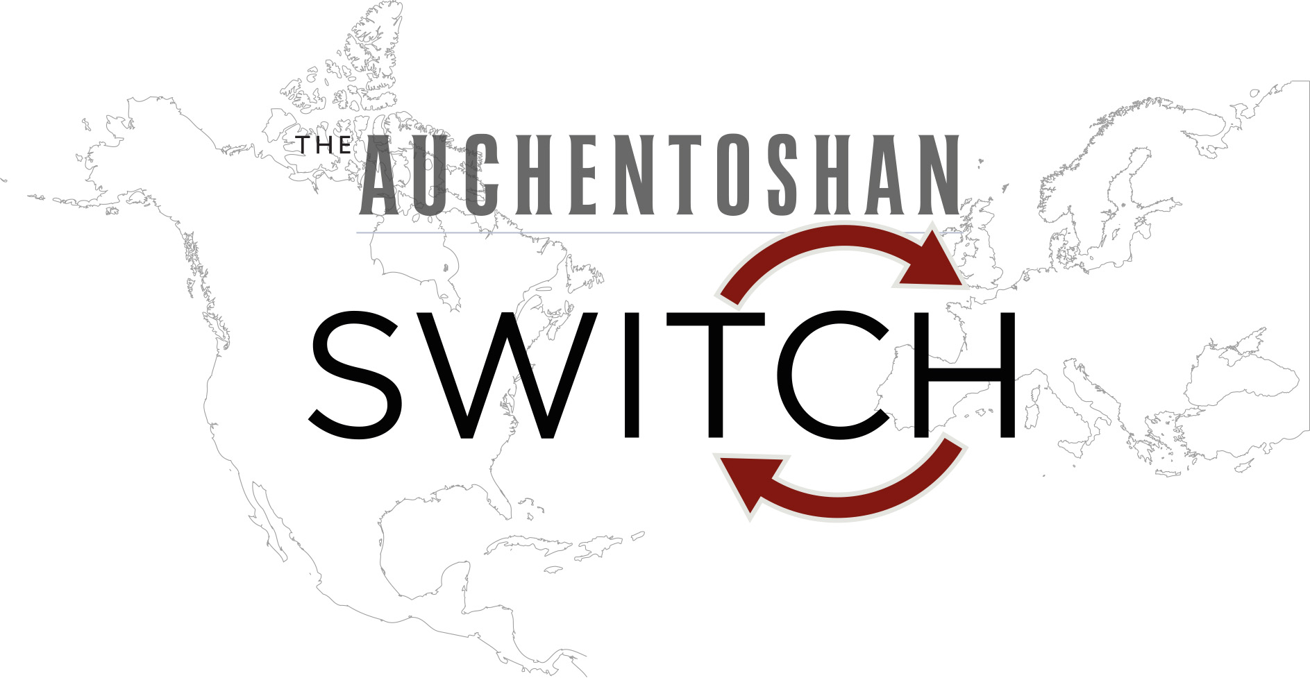 Auchentoshan Switch-Logo with countries