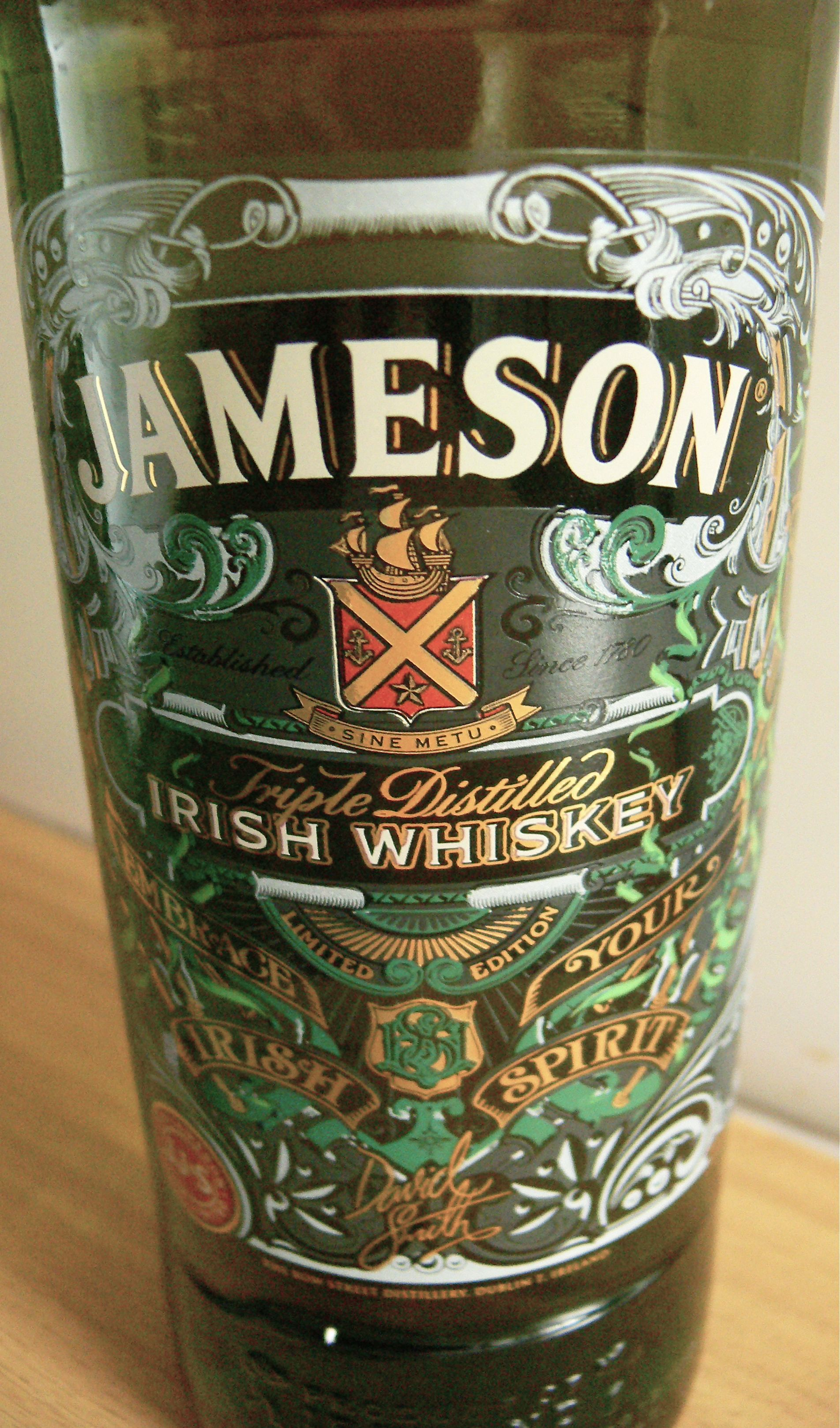 Jameson Ltd Edition Bottling