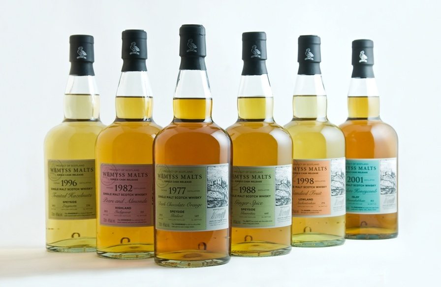 Wemyss Malts single cask whisky